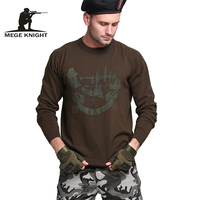 Mege Brand Clothing New Men S Sweater Knitted Pullover Male Military Army Clothing Autumn Winter Jersey
