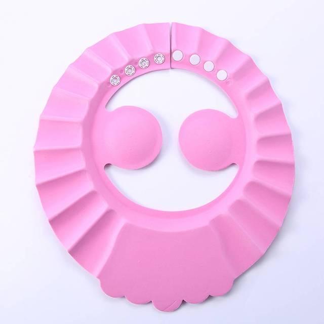 Adjustable Baby Kid Toddlers Hair Wash Hat Shampoo Bath Bathing Shower Shield Guard Baby Shield Ear Protection Cap boy