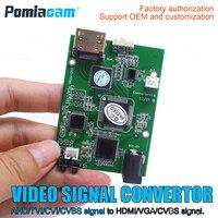 AHD41 20 teile/los 4-in-1 AHD TVI CVI CVBS 1080 P signal zu HDMI VGA CVBS signal konverter board/HDMI signal ausgang