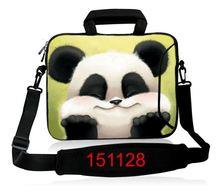 Pretty Panda Cute Design Laptop computer Shoulder Bag Pocket book Bag Ultrabook Messenger Carrying Case 10″13″14″15″17″inch For HP
