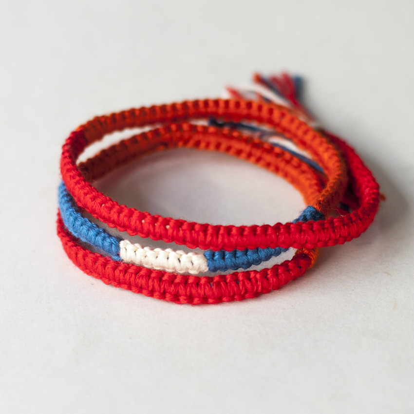 Movie Kimi no Na wa Your Name Miyamizu Mitsuha DIY Bracelet Jewelry Cosplay Gift
