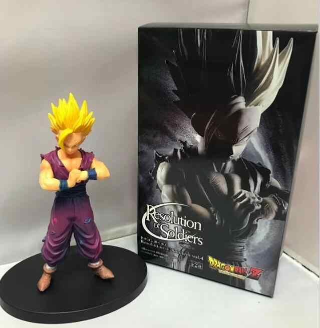 16 cm Dragon Ball Z Son Gohan Anime Action Figure PVC Nova Coleção figuras de Coleta de brinquedos para presente de Natal