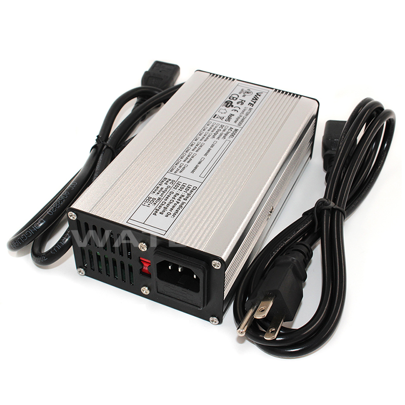 54.6V 4A Lithium ion Battery charger 13S 48V electric bike or scooter li ion battery charger for lipo battery pack