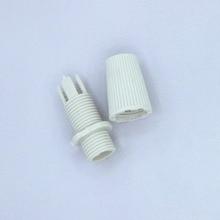 10 комплектов M10 держатель лампы винт провод захват лампа база силовой кабель Пряжка люстра пластиковый зажим патрон проволочная Пряжка 007
