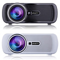 1000 Lumens 3D Projector LED Projector 1000:1 Contrast Support 1080P Home Cinema Video Projector U80
