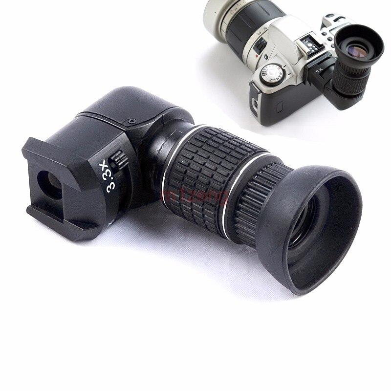 Mouette 1x-3.3x viseur d'angle pour Canon 60d 600d Nikon d90 d5200 pentax k5 olympus sony appareil photo reflex - 2