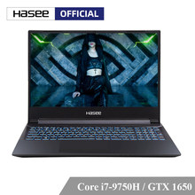 Hasee Z7M-CT7NA Laptop untuk Gaming (Intel I7-9750H + GTX1650 4GGDDR5/8G RAM/512G SSD/ DOS/15.6 ''Ips) hasee Notebook(China)