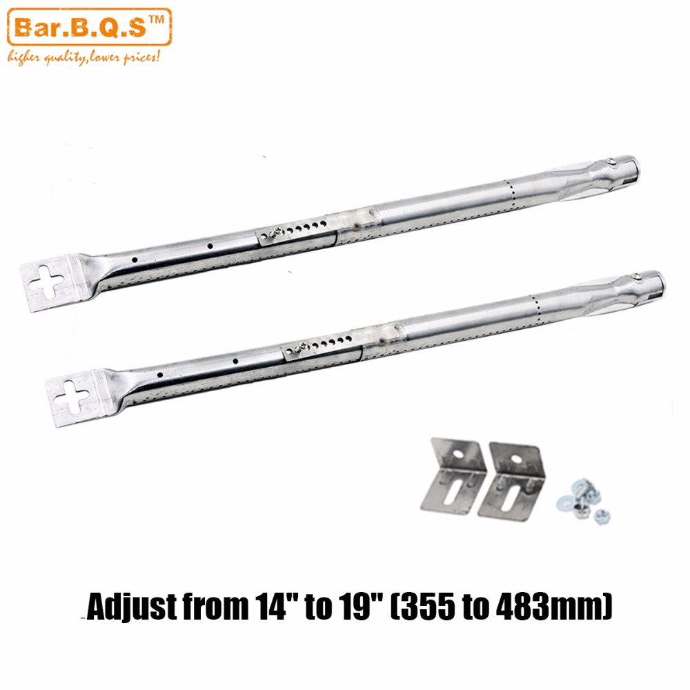 Stainless Steel Tube Burner Replacement 4 pack Universal Centro BBQ Grill Parts