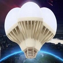 ac220v 3w 5w 7w 9w 12w e27 Voice control led lamp bulb smart sensor 5pcs/lot free shipping