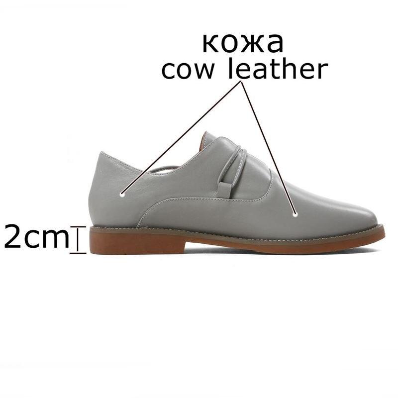 Sapatos Hauts Beige À Mode Filles Allbitefo Véritable Printemps Nouveau automne Femininos Femmes Talons gris Casual Cuir Chaussures hQtdsrC