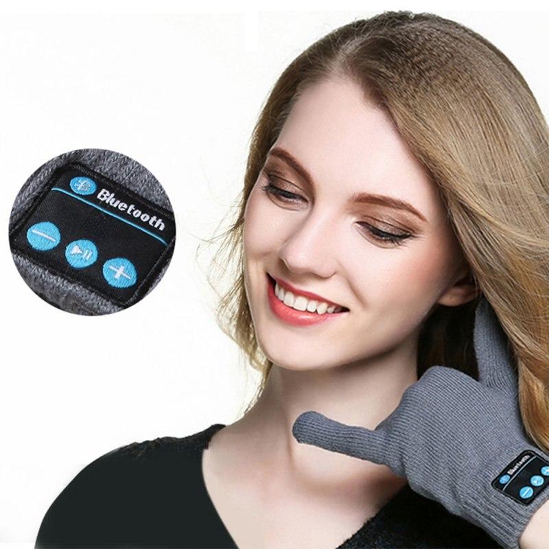 Unisex Bluetooth Gloves Women Ms
