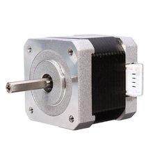 NEMA17 42 гибридный шаговый двигатель 2 Phase 1,8 Степень 40 MM для ЧПУ маршрутизатор продвижение