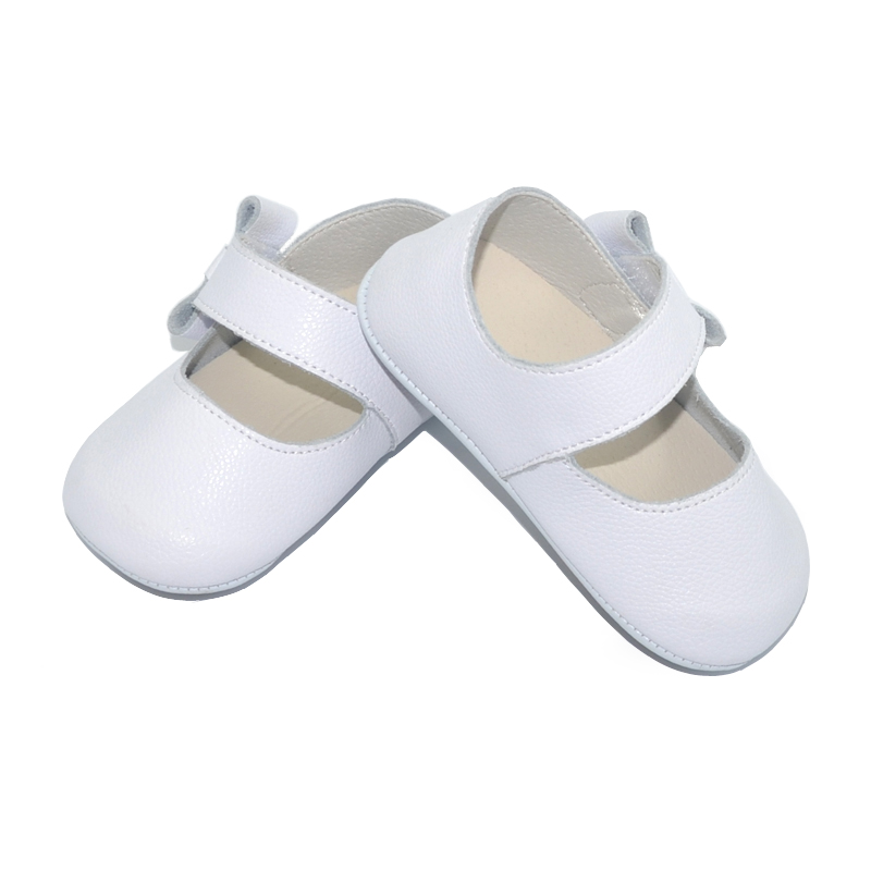 baby shoes girls genuine leather newborn white pink blk infant shoes prewalkers crib shoes nonslip Mary jane boutique 2019 0 18M in First Walkers from Mother Kids