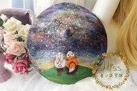 Princesa lolita dulce boinas Original mira a las estrellas boinas conejo fox bosque precioso sueño pequeño fresco y dulce MM25