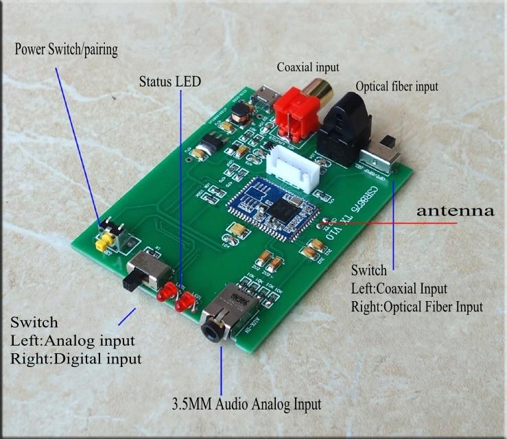 Unterhaltungselektronik Original Atpx Hd Csr8675 Wireless Adapter Bluetooth 5,0 Audio Transmitter Digital Optical Toslink Spdif 3,5mm Analog Für Tv Stb Headset Funkadapter