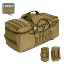 D5 column männer tasche rucksack taschen 50 l wasserdicht militär laptop taschen verschleißfesten paket hohe klasse rucksack