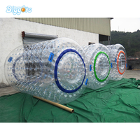 Customized Size Inflatable Water Roller Inflatable Human Water Bubble Ball