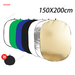 150*200cm oval seven-in-one reflector foldable portable studio photo outdoor portrait shooting CD50 T03