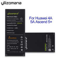 YILIZOMANA 2200mAh Replacement Phone Battery HB4342A1RBC For Huawei Y5II Y5 II Ascend 5+ Y6 Honor 4A SCL-TL00 Honor 5A LYO-L21