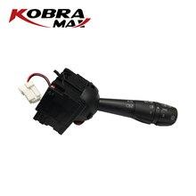 KobraMax Car Accessories Steering Column Switch for Renault Dacia LOGAN Clio IV 4 TRAFIC III 3 SANDERO 8201167981 Car Switch kobramax front anti roll bar stabiliser bush for dacia renault logan sandero logan ii 2 8200277960