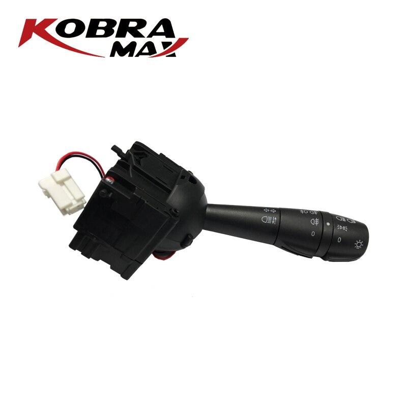 Kobramax coluna de direção interruptor se encaixa para renault dacia logan clio iv 4 tráfic iii 3 sandero 8201167981 acessórios do carro