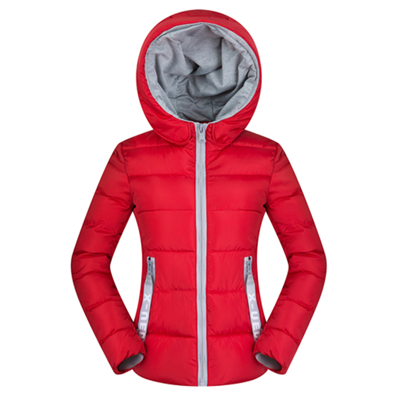 Nice Women Winter Hooded Basic Jacket Ultra Light Autumn Short Coat Big Size 2XL Outerwear Cotton Padded Chaqueta Feminino