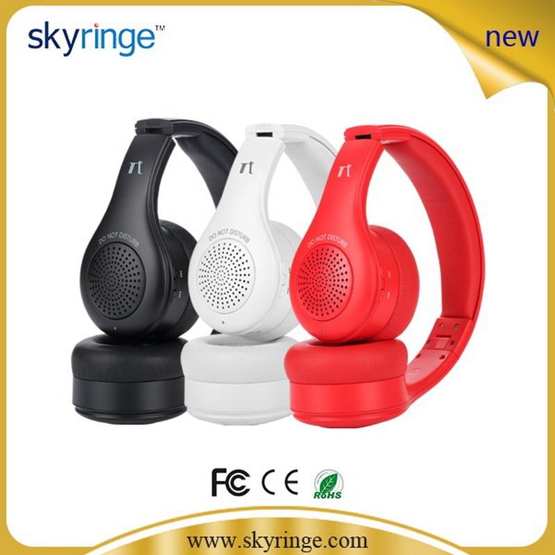 ФОТО Bluetooth Wireless Headphone With Mic Speaker Foldable Style Headphone