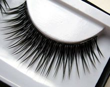 1 pairs 006 false eyelashes naturally thick cross tableaux