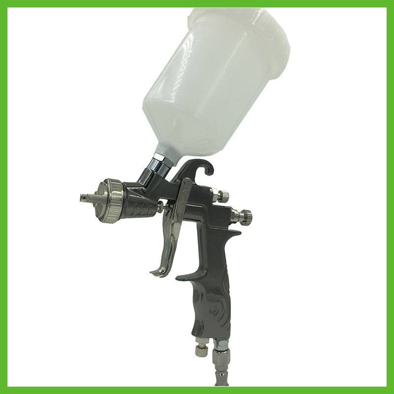 SAT0083 professional air paint sprayer lvlp gun air paint spray gun nozzle 1.4 pneumatic tools gravity feed and lvlp spray gun