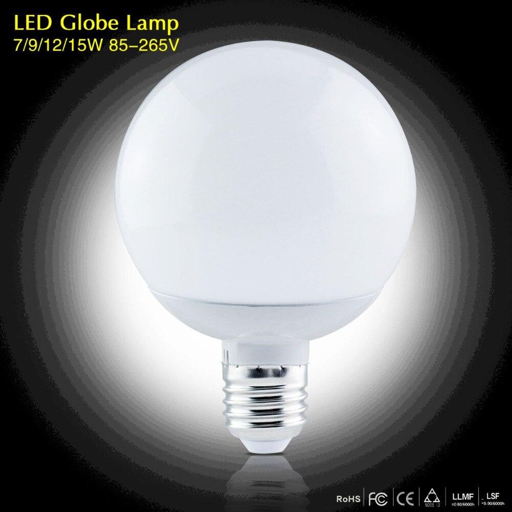 Светодиодные лампы 220 В 110 В лампада Свет E27 7 Вт 9 Вт 12 Вт 15 Вт SMD 5730 LED Лампы и освещение A60 A70 A80 A90 энергосбережения Лампы для мотоциклов