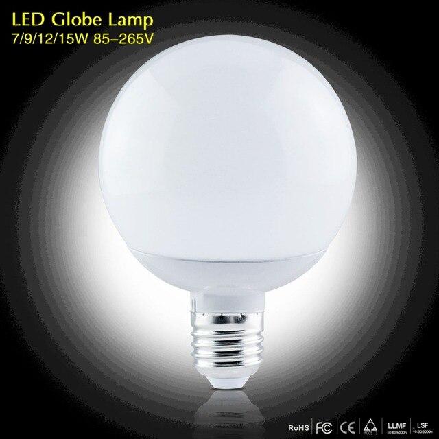 Led 電球ランプ 220 v 110 v ランパーダ led ライト E27 7 ワット 9 ワット 12 ワット 15 ワット smd 5730 led ライト & 照明 A60 A70 A80 A90 エネルギー節約ランプ