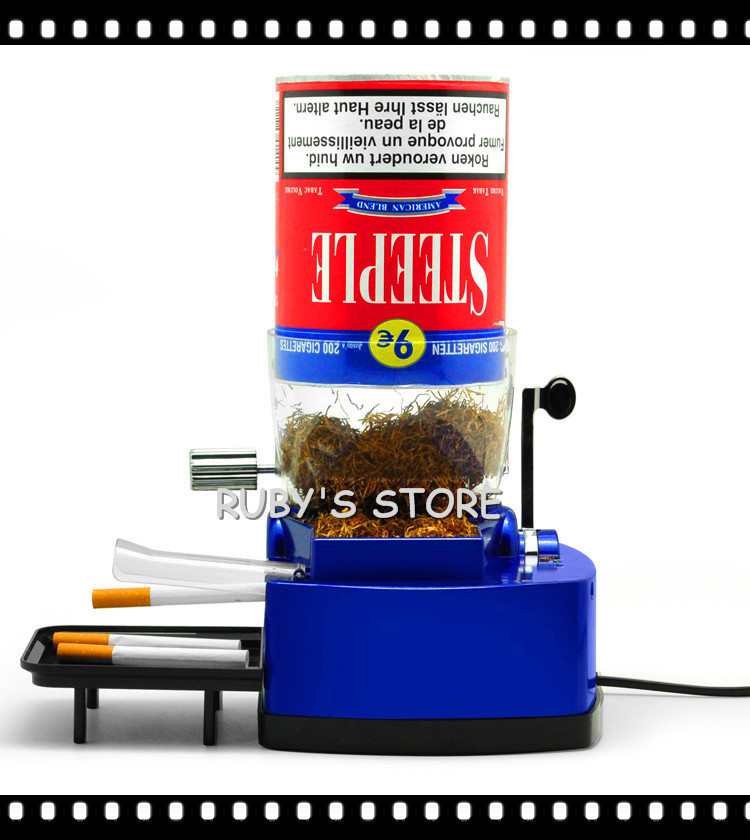 electric cigarette injector machine with hopper