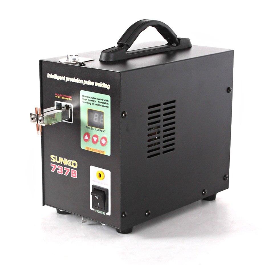 Cnc Welding Supplier South Africa: SUNKKO 737B Battery Spot Welder 1.5kw Precision Pulse Spot