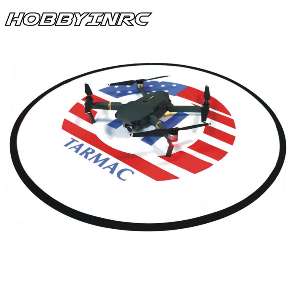HOBBYINRC RC Drone Quadcopter Fast-fold 80cm Landing Pad Tarmac Parking for DJI Spark phantom 3/3SE Phantom 4/4pro Mavic Pro dji phantom 3 rc quadcopter intensified landing gear