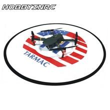 HOBBYINRC RC Drone Quadcopter Fast-fold 80cm Landing Pad Tarmac Parking for DJI Spark phantom 3/3SE Phantom 4/4pro Mavic Pro