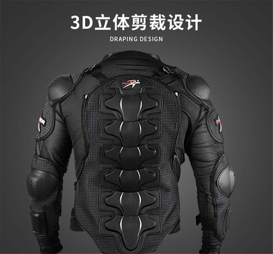 2017 Motorcycle jacket Protective Armor Jackets Protection Motocross Clothing Protector Back Protector Racing Full body Jacket