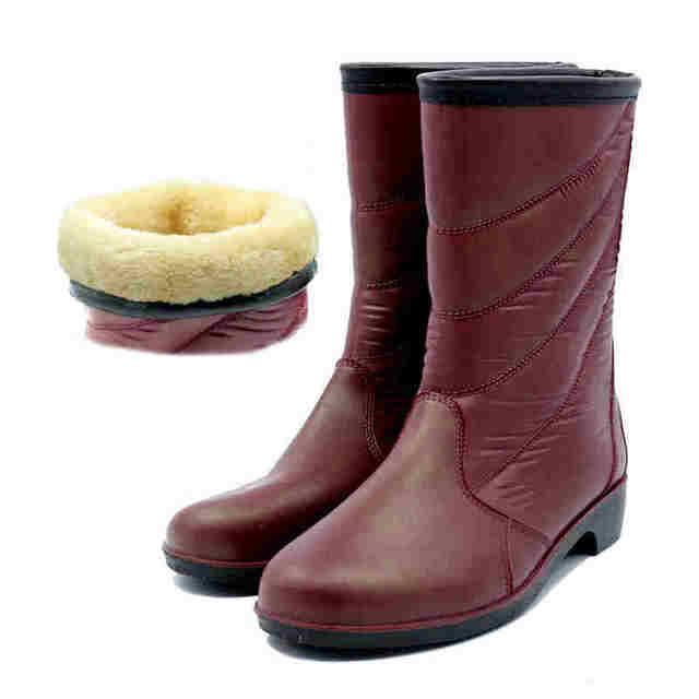 Noo Ankle Boots Women Garden Shoes Clogs Rubber Waterproof Woman Las Rain Hunting