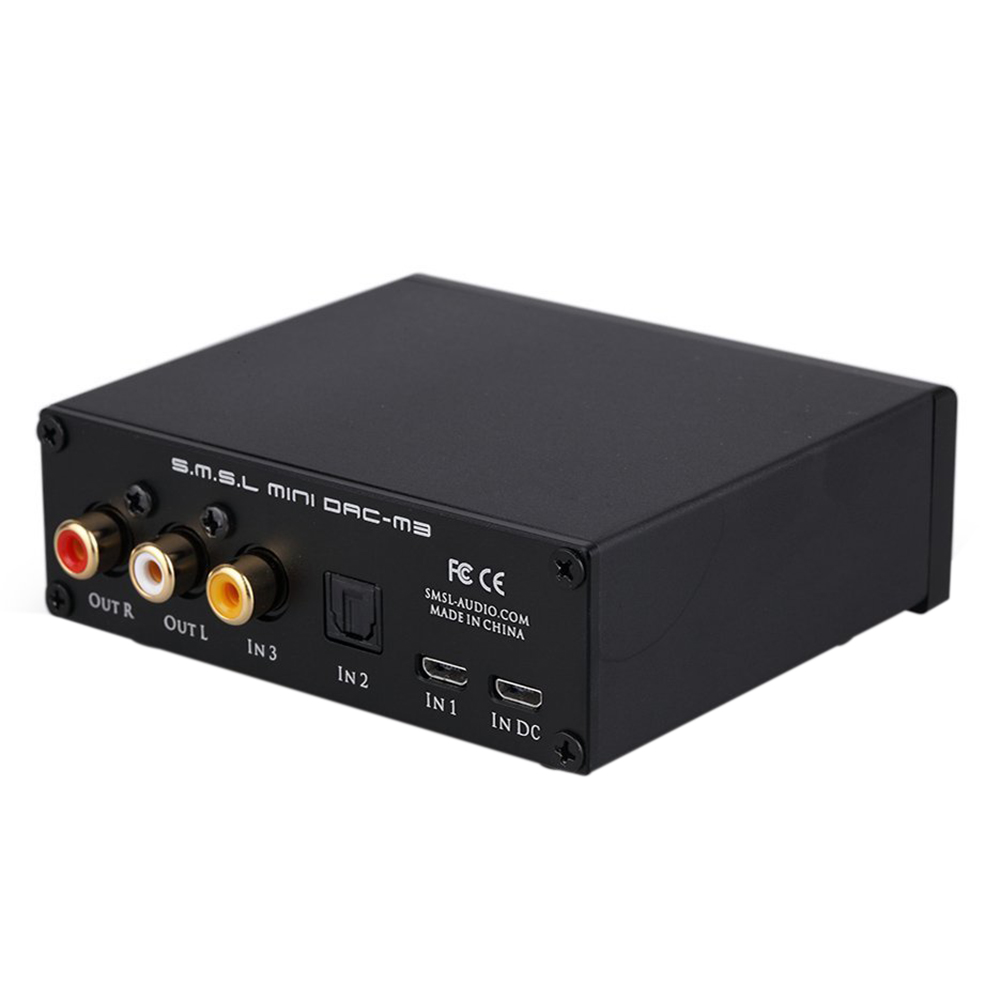 цена SMSL Audio M3 USB Powered Audio Decoder, Black онлайн в 2017 году