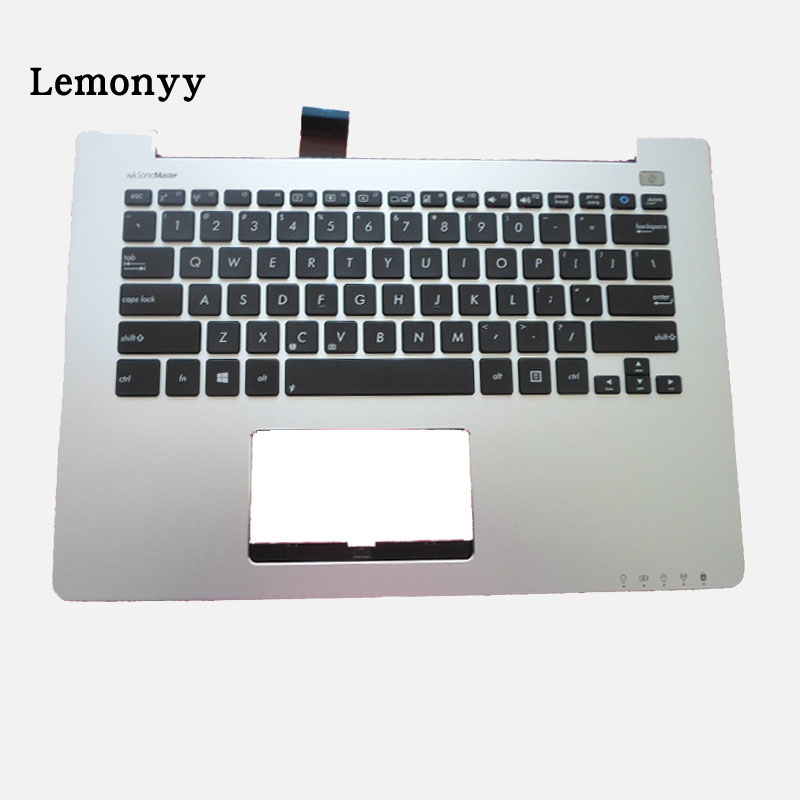 NEW US Laptop keyboard For Asus S300 S300C S300SC S300K S300Ki With C Shell Palmrest Upper Series for asus mp 09h63us 528 0kn0 ei1us0212463002413 laptop keyboard