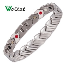 2014 Aliexpress World Cup Souvenir Hot Sale Mens 316l Stainless Steel magnetic bracelet