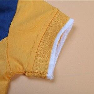 Image 2 - Bambino Ragazzo Jean Insiemi Dei Vestiti Dei Bambini di Polo Shirt + Short di Jeans Dei Ragazzi del Vestito di Abiti Per Bambini Abbigliamento Casual Infantile Dei Vestiti della Mutanda 2 7Year
