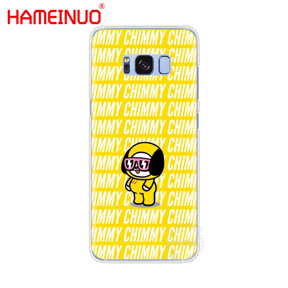 quality design 1d65d 51bf5 BTS BT21 Bangtan Boys CHIMMY RJ Cell Phone Case Cover For Samsung Galaxy S9  S7 Edge PLUS S8 S6 S5 S4 S3 MINI
