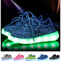 children Fluorescent shoes noctilucent kids boys girl running sports coconut shine shoes USB youth outdoor sneakers LED lights