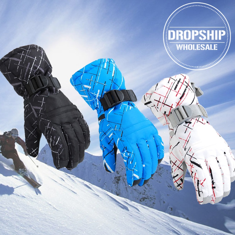 Super Warm Winter Ski Gloves for Men Women Waterproof Snowmobile Windproof Gloves Sport Snowboard Skiing Cycling Snow Glove