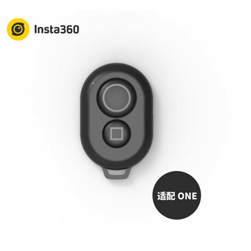Original Insta 360 One Camera Bluetooth Remote Control For Insta360 One Bluetooth Controller 360 vr camera Accessories insta360 air 3k hd 360 camera dual lens panoramic camera compact mini vr camera for samsung oppo huawei lg andriod smartphone