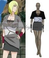 Japanese Anime Outfit Naruto Shippuuden Team Cloud Samui Cosplay Costume E001