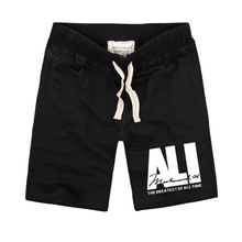 2020 Fashion Street Style Brand Mens MUHAMMAD ALI Name Letter Shorts