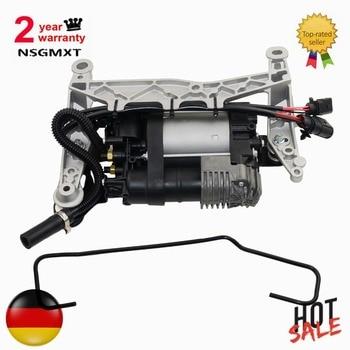 AP01 компрессор пневматической подвески с перевозчиком для Porsche Cayenne II 92A 95835890101 95835890100 95835890102 >>