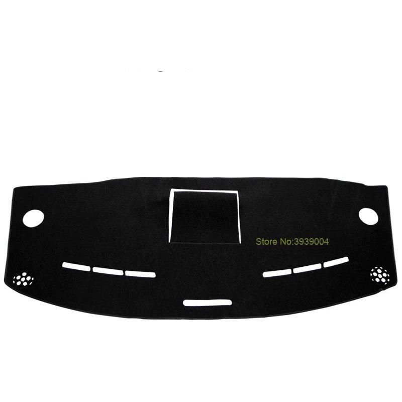 Noir Tapis De Planche De Bord Couverture Dashmat Tableau de Bord Tapis De Soleil Couverture De Voiture Intérieur Dash Couverture Pour Mercedes Benz Vito 2016-2017
