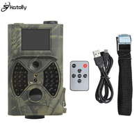 Skatolly HC300A Deer Hunting Camera 12MP 1080P Infrared Night Vision Wildlife Trail Cameras Hunter Scouting Photo Traps Chasse